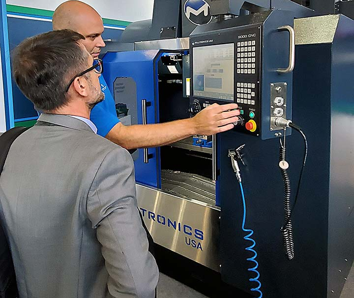 Milltronics Europe CNC Machine Demo at EMO